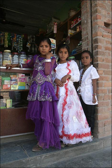 Mädchen in Rajasthan